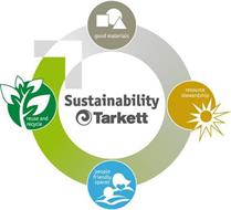 SUSTAINABILITY TARKETT GOOD MATERIALS RESOURCE STEWARDSHIP PEOPLE FRIENDLY SPACES REUSE AND RECYCLE