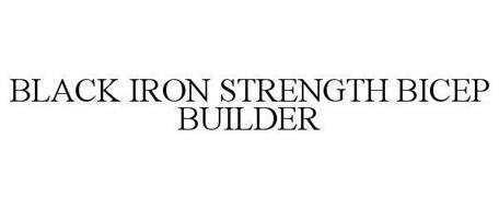 BLACK IRON STRENGTH BICEP BUILDER