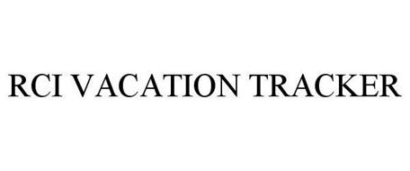 RCI VACATION TRACKER