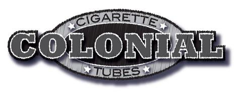 COLONIAL CIGARETTE TUBES