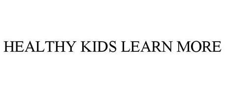 HEALTHY KIDS LEARN MORE