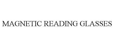 MAGNETIC READING GLASSES