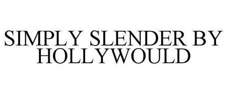 SIMPLY SLENDER BY HOLLYWOULD