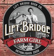 FARM GIRL LIFT BRIDGE BEER CO. LIFT BRIDGE BREWING CO. SAISON ESTABLISHED 2008