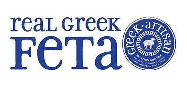 REAL GREEK FETA GREEK · ARTISAN MADE FROM SHEEP MILK