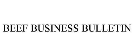 BEEF BUSINESS BULLETIN