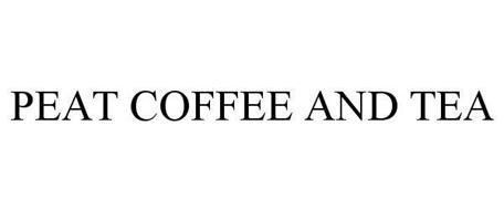 PEAT COFFEE AND TEA