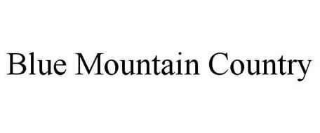 BLUE MOUNTAIN COUNTRY