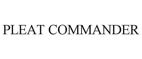 PLEAT COMMANDER