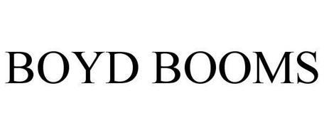 BOYD BOOMS