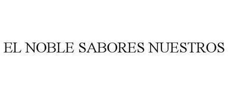 EL NOBLE SABORES NUESTROS