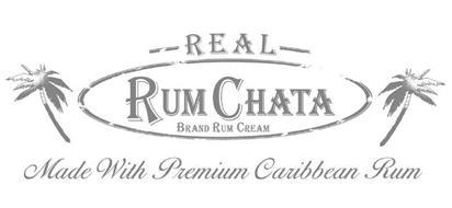 REAL RUMCHATA BRAND RUM CREAM MADE WITHPREMIUM CARIBBEAN RUM