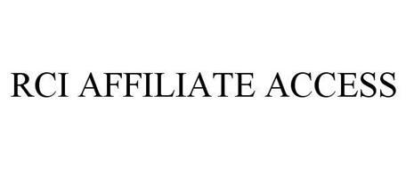 RCI AFFILIATE ACCESS