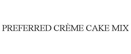 PREFERRED CREME CAKE MIX
