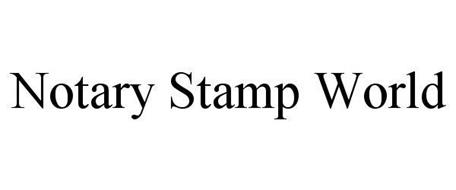 NOTARY STAMP WORLD