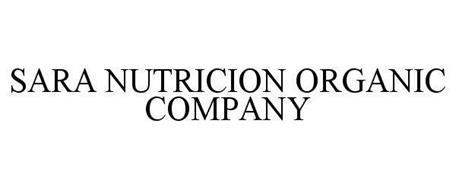 SARA NUTRICION ORGANIC COMPANY