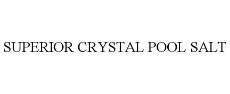 SUPERIOR CRYSTAL POOL SALT