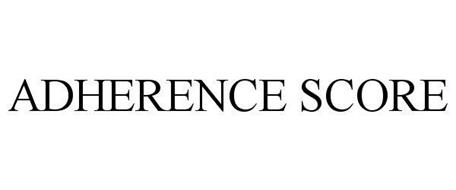 ADHERENCE SCORE