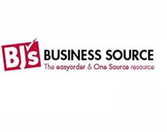 BJ'S BUSINESS SOURCE THE EASY ORDER & ONE SOURCE RESOURCE