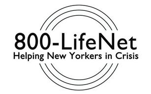 800-LIFENET HELPING NEW YORKERS IN CRISIS