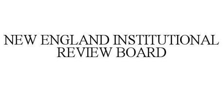 NEW ENGLAND INSTITUTIONAL REVIEW BOARD