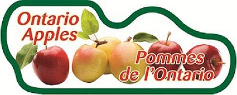 ONTARIO APPLES POMMES DE L'ONTARIO