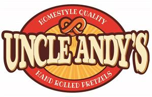 UNCLE ANDY'S HOMESTYLE QUALITY HAND ROLLED PRETZELS