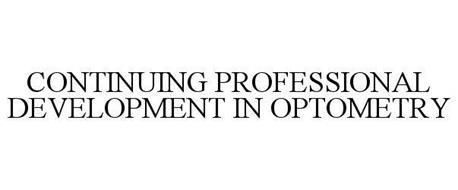 CONTINUING PROFESSIONAL DEVELOPMENT IN OPTOMETRY