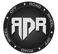 RDR RED DIRT ROAD OFF ROAD WHEEL