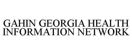 GAHIN GEORGIA HEALTH INFORMATION NETWORK