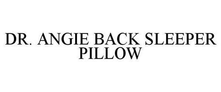 DR. ANGIE BACK SLEEPER PILLOW