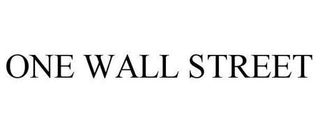ONE WALL STREET