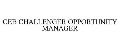 CEB CHALLENGER OPPORTUNITY MANAGER