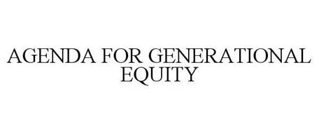 AGENDA FOR GENERATIONAL EQUITY