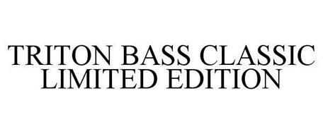 TRITON BASS CLASSIC LIMITED EDITION