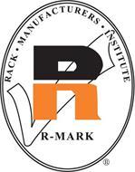 R-MARK RACK · MANUFACTURERS · INSTITUTE