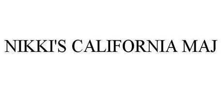 NIKKI'S CALIFORNIA MAJ