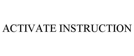 ACTIVATE INSTRUCTION