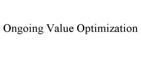 ONGOING VALUE OPTIMIZATION