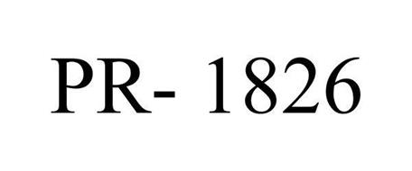 PR- 1826