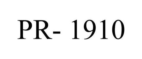 PR- 1910