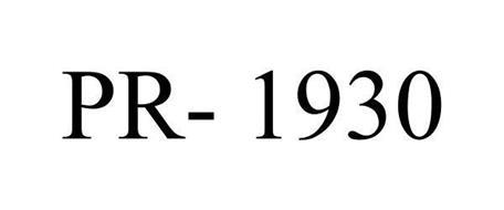 PR- 1930