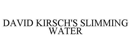 DAVID KIRSCH'S SLIMMING WATER
