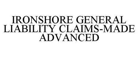IRONSHORE GENERAL LIABILITY CLAIMS-MADE ADVANCED