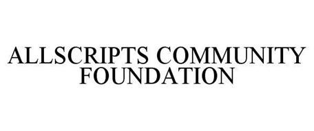 ALLSCRIPTS COMMUNITY FOUNDATION