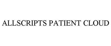 ALLSCRIPTS PATIENT CLOUD