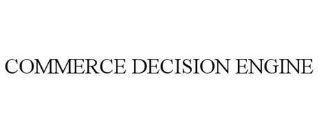 COMMERCE DECISION ENGINE
