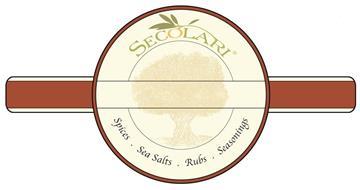 SECOLARI SPICES · SEA SALTS · RUBS · SEASONINGS