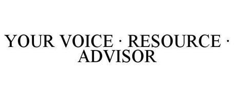 YOUR VOICE · RESOURCE · ADVISOR