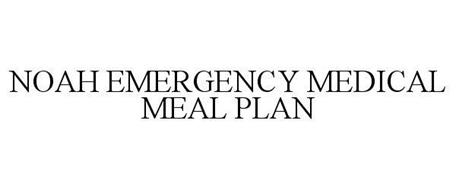 NOAH EMERGENCY MEDICAL MEAL PLAN